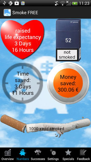 Screenshot, Smoke FREE Finally Non Smoking APK, 25.01.2018