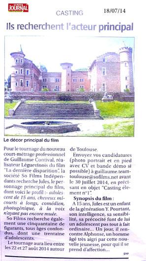 Le Petit Journal, le 18/07/14