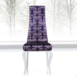 silla de comedor clasica alta tapizada city modcesto navarro lacadira.com