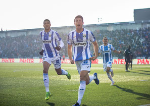 Mikel Vesga, leganes, gol, celebracion, butarque, futbol, fotografia deportiva, la liga santander