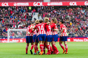 Atlético Femenino, Liga Iberdrola, Futfem, fútbol femenino, wanda metropolitano, madrid cff