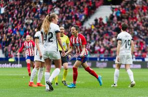 Atlético Femenino, Liga Iberdrola, Futfem, fútbol femenino, wanda metropolitano, madrid cff, aurelie kaci