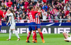 Atlético Femenino, Liga Iberdrola, Futfem, fútbol femenino, wanda metropolitano, madrid cff, marta corredera
