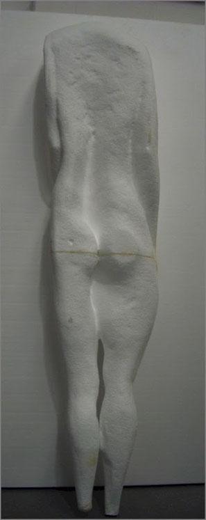 Escultura de Cuerpo espachurrado
