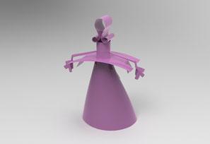 Re- Diseño 3D, de una idea de un escultor