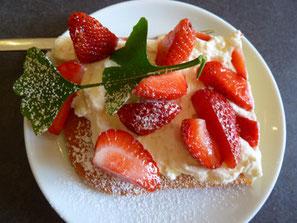 Erdbeer-Kuchen Kuchen