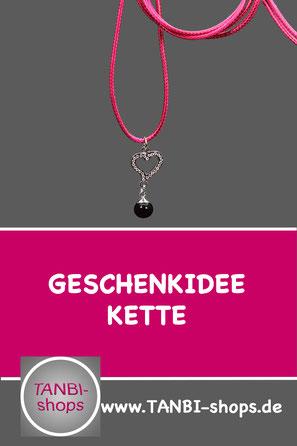 Einschulungsgeschenk Kinderkette, Kinderkette, Kette mit Herz, Geschenkidee zur Einschulung, Geschenk zur Einschulung, Kinderkette mit Herz, Pinke Kette, Accessoires pink