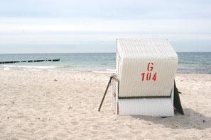 Strandkorb - Ahrenshoop- Carpe Diem - Prerow - Bio-Hotel