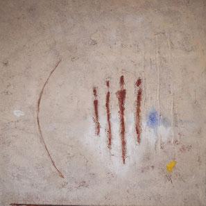 Insouciance. Huiles sur toile 60 x 60