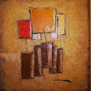KDO. Huiles sur toile 60 x 60