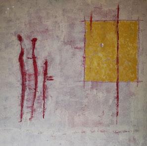 Huile sur toile 80 x 80