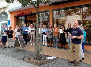 Flensburger Pop-Chor Chornett bei Westphalen