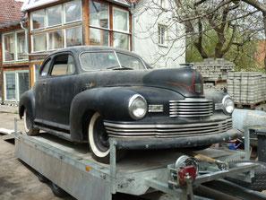 Adams Iron Work Nash Ambassador Coupe