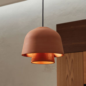 Okina double supension lamp