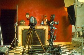 """Deux caméras dont une avec """"motion control""""."""