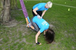 Bild Schlingen Training, Gurte