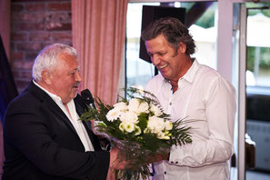 Rainer Kamrath dankt Martin Nixdorf 2017