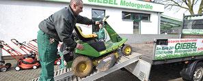 Hol-und Bringservice | Motorgeräte Giebel