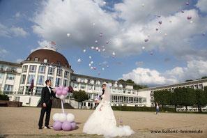 Das Ballonglück für Ihre Hochzeit in Bremen