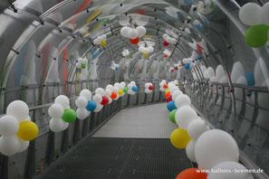 Ballondekoration im Universum Bremen, Deutschland