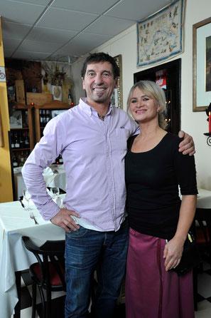Ristorante Osteria Liguria, Giorgio Bellini mit seiner Frau