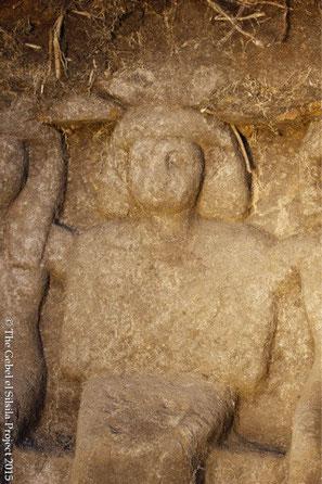 statue découverte à gebel silsileh