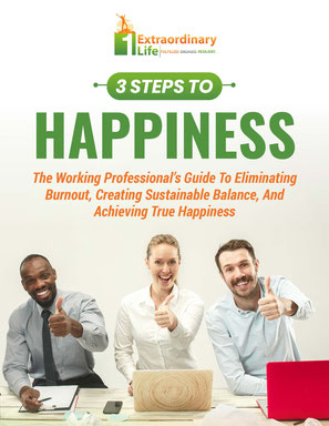 3 Steps To Happiness: Working Professionals Guide