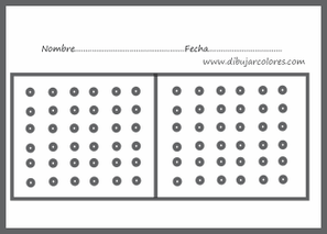 fichas de atención visual para elaborar secuencias de líneas