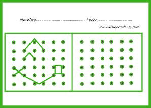 Atención visual con puntos