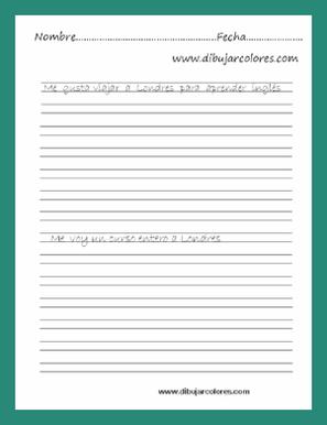 Entre otros, los objetivos que se buscan con la caligrafía son la obtención de una escritura que resulte legible, la claridad en la escritura de las letras, dándole a cada una sus rasgos distintivos  y el espacio uniforme entre letras, palabras y renglone