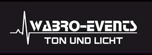 Logo WABRO-Events Ton und Licht - Sponsor von Sicherheitshalbe