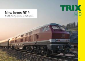 Trix Neuheiten 2019 Katalog pdf