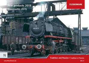 Fleischmann Neuheiten 2019 Katalog pdf