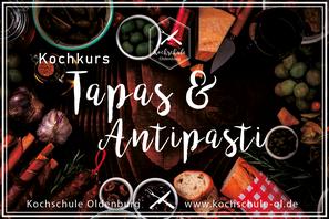 Tapas & Antipasti Kochkurs Kochschule Oldenburg