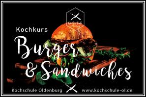 Burger Kochkurs Oldenburg