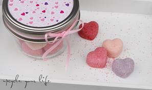 zuckersüße zuckerchen... kleines valentinstag-geschenk...