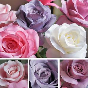 ...nach monatelanger suche farbige rosen nach meinem geschmack zu bekommen...  do it yourself...