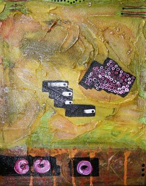 Artigkeit, Claudia Karrasch, Bonn, Malen, Abstrakte Malerei, Kunst, Studio, 3-Dreierlei