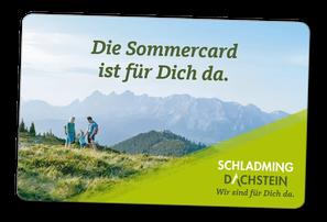 Mit der Schladming-Dachstein Sommercard!