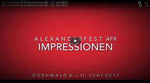 © Hiro Ýima | Alexanderfest AFX 2017 Diashow