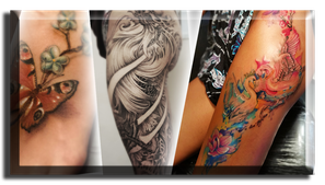 Blue Magic Pins tattoo shop in Belgium Genk realistic tattoos watercolor black and grey sleeves unique tattoos