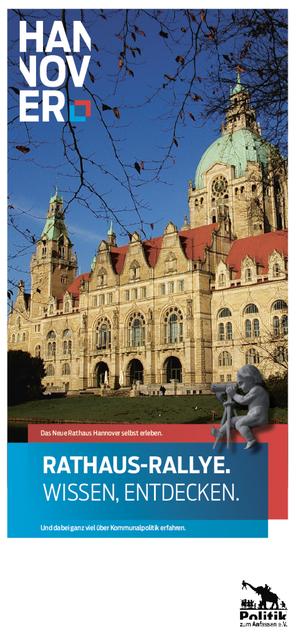 Rathaus Rallye Hannover Jugendbeteiligung Politische Bildung Planspiel Demokratie Politik zum Anfassen