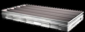 1) Ungere stampo o teglia da forno con il TRENNAKTIV PR 100