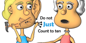 Do not just count to ten