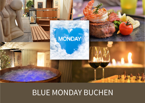 Blue Monday in Juckers Boutique-Hotel in Tägerwilen bei Kreuzlingen am Bodensee