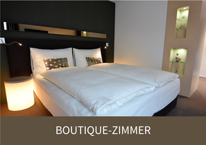 Design Zimmer in Juckers Boutique-Hotel in Tägerwilen bei Kreuzlingen am Bodense