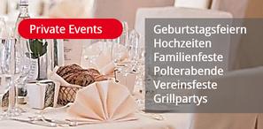 Mornhinweg Partyservice für private Veranstaltungen