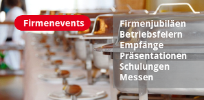 Mornhinweg Eventcatering für Firmenevents
