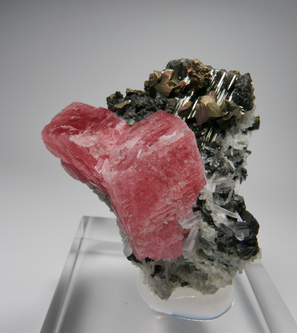 Fine Rhodochrosite Sweet Home mine