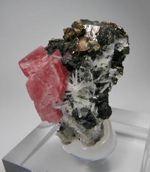 Fine Rhodochrosite specimen